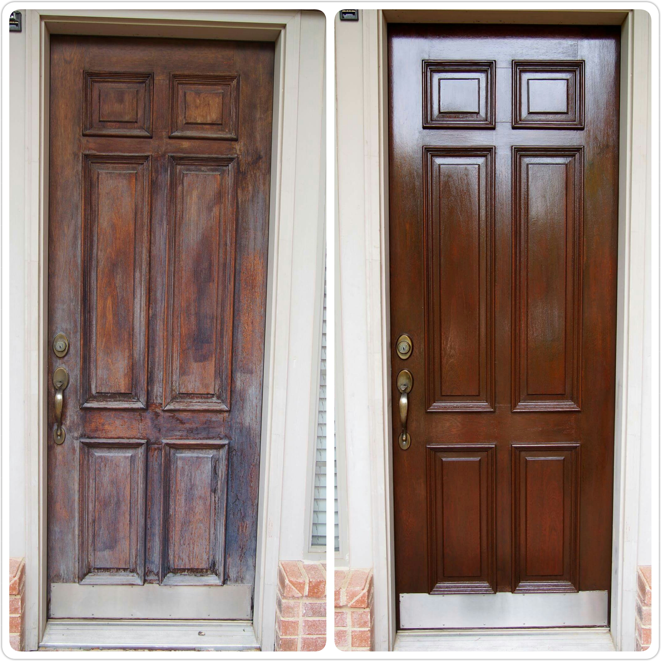 Awesome Tag: Front Door Refinishing