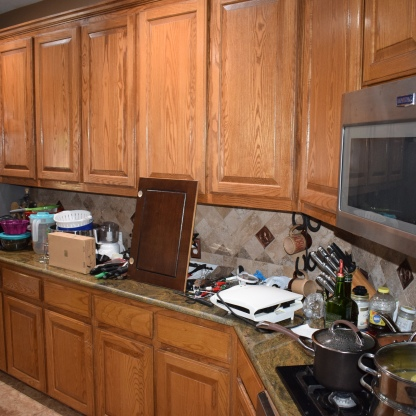 Change The Color Of Your Kitchen Cabinets And Other Woodwork - How to change color of kitchen cabinets without sanding