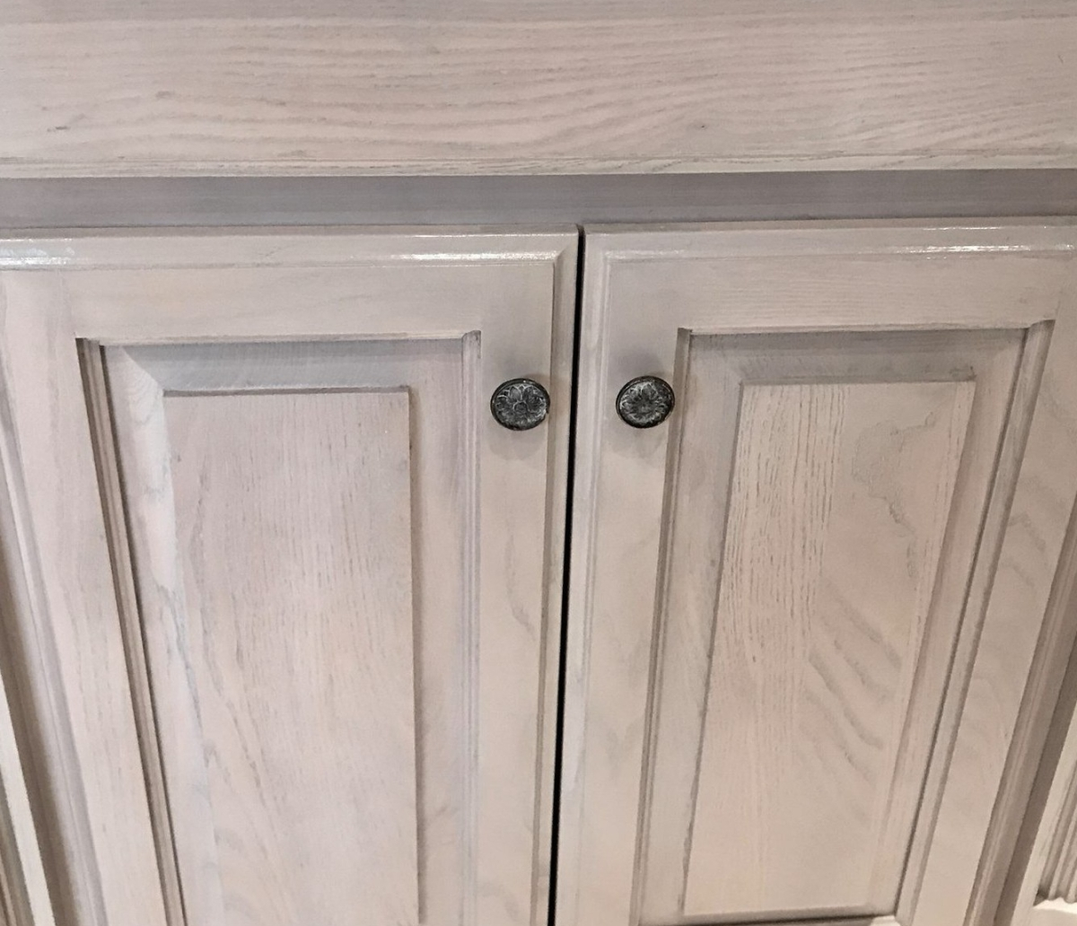Pickled Cabinetry